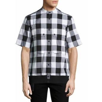 ヘルムートラング Men Clothing Macro Check Shirt
