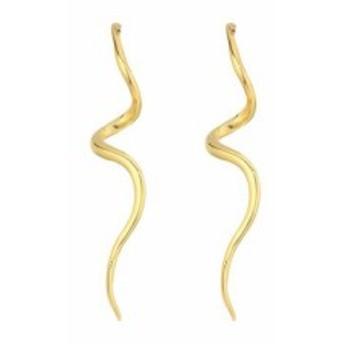ケネス ジェイレーン レディースアクセサリ イヤリング ピアス Polished Gold Swirl Post Earrings