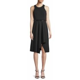 カルバンクライン レディース ワンピース Embellished Knee-Length Dress