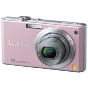 Panasonic デジタルカメラ LUMIX (ルミックス) FX37 カクテルピンク DMC-FX(中古品)