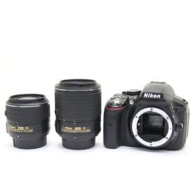 《並品》Nikon D5300 ダブルズームキット2 ブラック