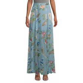 アリス+オリビア レディース スカート Athena Floral Maxi Skirt