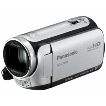 Panasonic デジタルハイビジョンビデオカメラ 内蔵メモリー8GB シルバー HC(中古品)