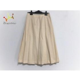 ドレステリア DRESSTERIOR ロングスカート サイズ38 M レディース 美品 アイボリー   スペシャル特価 20190818