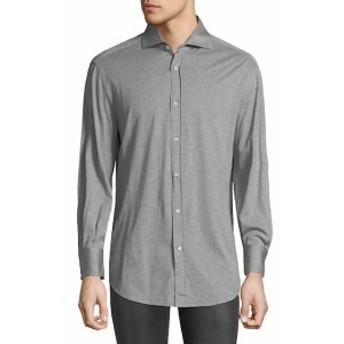 ブルネロクチネリ Men Clothing Jersey Knit Sportshirt