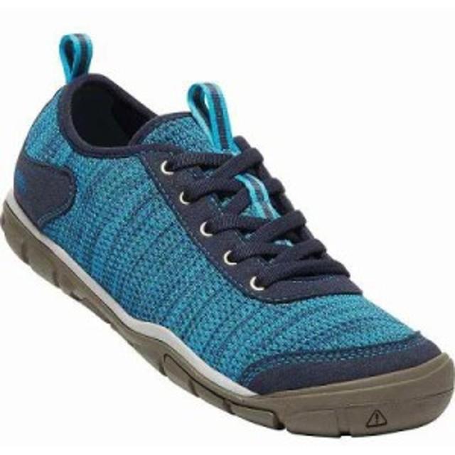 キーン スニーカー Hush Knit Shoe Vivid Blue / Dress Blue