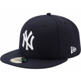 ニューエラ キャップ New York Yankees 59Fifty Game Navy Authentic Hat