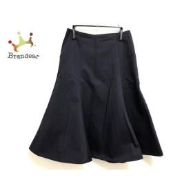 ドレステリア DRESSTERIOR スカート サイズ36 S レディース 美品 ダークネイビー  値下げ 20190809