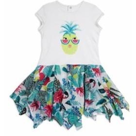 カティミニ キッズ ガールズ スカート ドレス Little Girls & Girls Pineapple Printed Dress