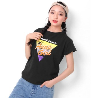 [マルイ]【セール】ヤシプリントTシャツ/アナップキッズ&ガール(ANAP KIDS&GIRL)