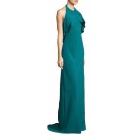カーメンマークバルボ レディース ワンピース Floor-Length Halterneck Gown