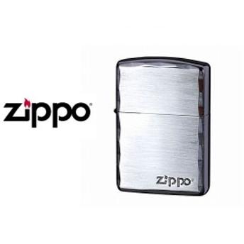 【ZIPPO】ジッポオイルライターアーマーARMORシンプルロゴZIPPOロゴ入りSBNARM-SIMPLEROGO-SBN