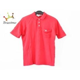 マンシングウェア Munsingwear 半袖ポロシャツ サイズ3 L メンズ レッド   スペシャル特価 20190820