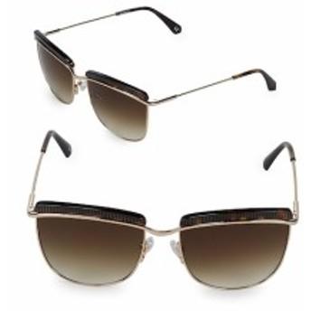 バルマン レディース サングラス 56MM Tortoise Sunglasses