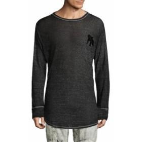 Men Clothing Drift Meshy Long Sleeve