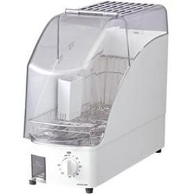 食器乾燥器 (1~2人用) ホワイト KDE-0500-W