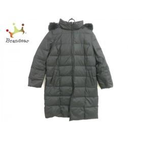ニジュウサンク 23区 ダウンコート サイズ48 XL レディース 美品 黒 冬物/リバーシブル 新着 20190517