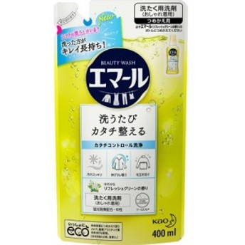 エマール 洗濯洗剤 リフレッシュグリーンの香り 詰め替え(400mL)[ドライ用・ウール用洗剤]