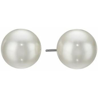 ケネス ジェイレーン レディースアクセサリ イヤリング ピアス 12 mm Glass Pearl Post Earrings
