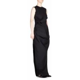 リックオーウェンズ レディース ワンピース Roundneck Long Dress