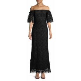 ランドリーバイシェルシーガル レディース ワンピース Off-the-Shoulder Lace Ruffle Gown