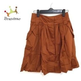 ドレステリア DRESSTERIOR スカート サイズ38 M レディース ブラウン   スペシャル特価 20190820