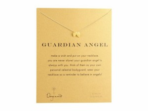 Dogeared Womens Guardian Angel Reminder Necklace