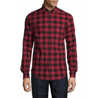 ザディグ&ヴォルテール Men Clothing Sigfried Plaid Flannel Button-Down Shirt