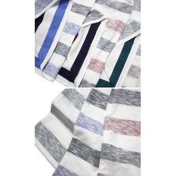 Tシャツ - GROOVY STORE Tシャツ ねこぶちさん にじみ ボーダー 半袖 Tシャツ 猫渕さん 猫 ねこ