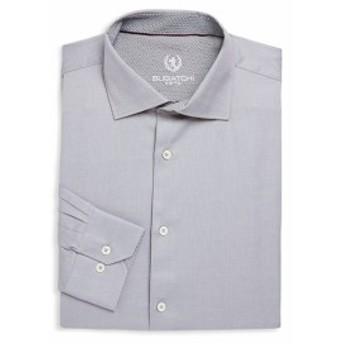 ブガッチ Men Clothing Long-Sleeve Cotton Dress Shirt