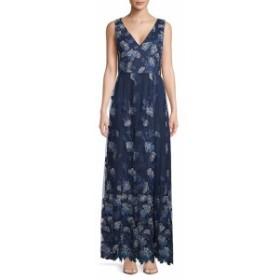 カーメンマークバルボインフュージョン レディース ワンピース Embroidered Sleeveless Gown