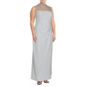 マリーナ レディース ワンピース Embellished Sleeveless Dress