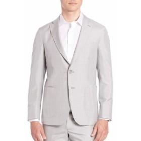 サックスフィフスアベニュー Men Clothing Classic Silk Sportcoat