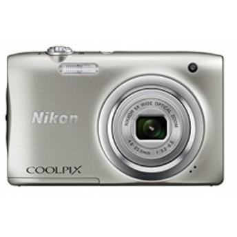 Nikon デジタルカメラ COOLPIX A100 光学5倍 2005万画素 シルバー A100SL(中古品)