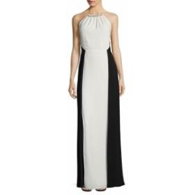ハルストンヘリテージ レディース ワンピース Two-Toned Sleeveless Gown