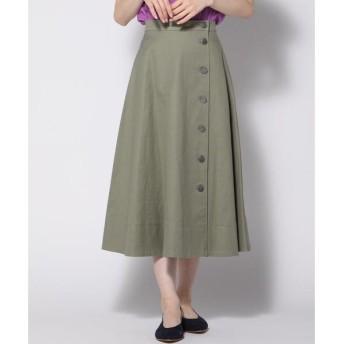Ketty Cherie / ケティ シェリー スラブツイルサイドボタンスカート