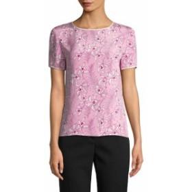 オスカーデラレンタ レディース スカート Floral Silk Top