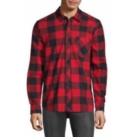 ハドソン Men Clothing Buffalo Plaid Shirt