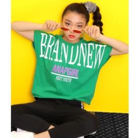 [マルイ]【セール】BIGロゴカットオフTシャツ/アナップキッズ&ガール(ANAP KIDS&GIRL)