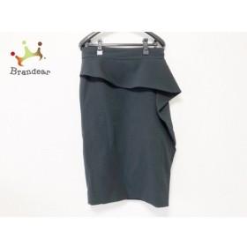 グッチ GUCCI 巻きスカート サイズ40 M レディース 美品 ダークネイビー フリル     スペシャル特価 20190825