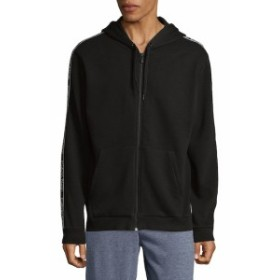 カルバンクライン Men Clothing Full-Zip Cotton Hoodie
