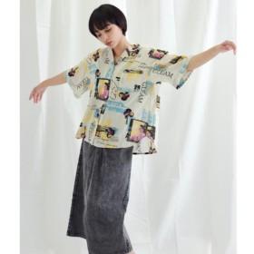 [マルイ]【セール】プリントテリーボイル開襟シャツ/アナップ(ANAP)