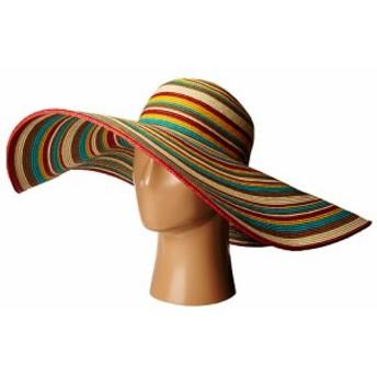 サン ディエゴ ハット カンパニー レディース ハット キャップ 帽子 UBX2721 Striped Floppy 8 Inch Brim S