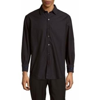 ロバートグラハム Men Clothing Venetian Masks Embroidered Cotton Button-Down Shirt