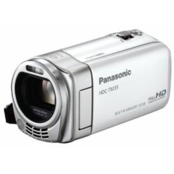 Panasonic デジタルハイビジョンビデオカメラ ホワイト HDC-TM35-W(中古品)