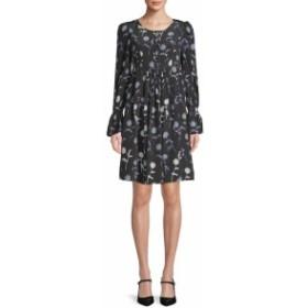 ケンゾー レディース ワンピース Floral-Printed Silk Shift Dress