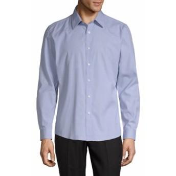 ハイデンヨー Men Clothing Classic Slim-Fit Cotton Button-Down Shirt