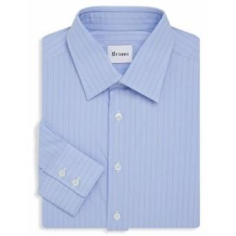ブリオーニ Men Clothing Pinstripe Cotton Dress Shirt