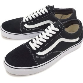 【日本正規品】VANS バンズ スニーカー 靴 メンズ レディース オールドスクール BLACK/WHITE(VN000D3HY28)