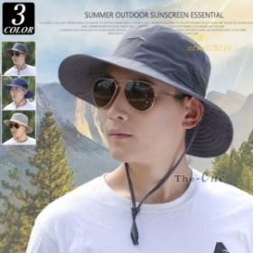 サファリハット 帽子 メンズ アドベンチャーハット 夏 メッシュ 紫外線 迷彩 アウトドア 日よけ帽子 ぼうし
